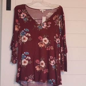 Maurices Floral Tunic